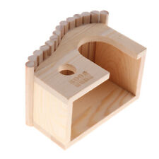 Creative Wooden House Cottage for Small Pet Hamster Chinchilla etc - Type 3