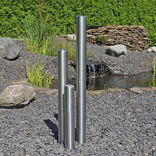 Edelstahlsäulen für Springbrunnen B-Ware Garten Wasserspiel Säulenbrunnen 100cm