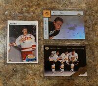 (3) Pavel Bure 1990-91 Upper Deck Rookie 1992-93 SP Euro lot RC Young Guns HOF