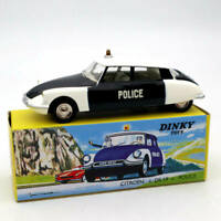 Atlas 1/43 Dinky Toys 501 Citroen DS 19 Police Car Models Diecast Collection