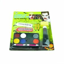 Halloween Party Complete Makeup Kit Fancy Dress Zombie Scary Face Paint