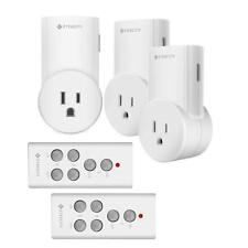Etekcity Wireless Remote Control Electrical Outlet Switch Learning Code, 3Rx-2Tx