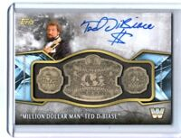 WWE Ted Dibiase 2017 Topps Legends Belt Plate Autograph Relic Card SN 5 of 99