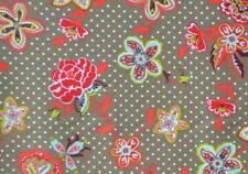 edler HILCO Blusenstoff Stickerei Blumen Stoff für Tunika u.a. bestickter