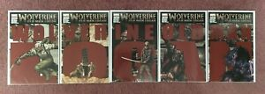 Wolverine #66-70 2nd/3rd/4th ptg Connecting Cover Set - Old Man Logan - NM