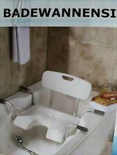Badewannensitz mit Rückenlehne *GS* Sitz für Badewanne