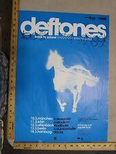 MB 2001 Rock Roll Konzert Poster Deftones White Pony Berlin Hamburg Offenbach