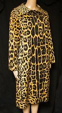 Vintage FAB!~Leopard Print Trench Coat~Lawrence of London for Bullocks Wilshire
