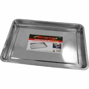 Large Stainless Steel Drip Tray DIY Oil Water Drain Floor Contamination 5221