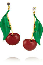 ERICKSON BEAMON Cherry Pie Statement Earrings