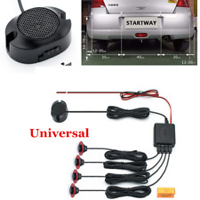 Parking 4 Sensors Car Reverse Backup Rear Buzzer Radar System Sound Alarm Kit