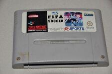Super Nintendo juego módulo SNES-fifa International Soccer-fútbol deporte EA