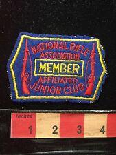 Vtg NRA JUNIOR CLUB MEMBER Gun Patch ~ National Rifle Association 69WR
