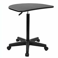 Height Adjustable Mobile Laptop Computer Desk Organizer Cart Home Office Dorm Ne