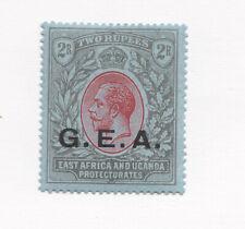 1921 TANGANYIKA  G.E.A. overprint  East Africa hinge mint  2R SG 66 Mult Script
