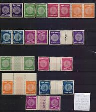 ! Israel 1951-1952. Tete-beche With and Without Bridge  Stamp. YT#. €60.00 !