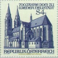 EBS Austria 1979 - 7th Centenary of Vienna Neustadt Cathedral - ANK 1636 MNH**