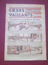 COEURS VAILLANTS N°2 du 13 JANVIER 1935 HERGE TINTIN EN ORIENT TBE