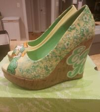 Ed Hardy Wedges Women's Shoes Heels Size 7