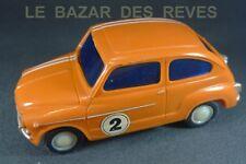 PLASTICO ALBACETE. SEAT 600. Rallye.