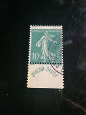timbres type semeuse Phena N° 188 oblitere