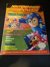 Nintendo Power Magazine Volume 20 January 1991 Mega Man III
