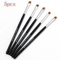 5Pcs Eyebrow Brush Tinting Eyeshadow Pro Angled Cosmetic Eye Brow Brushes Set CA