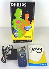 philips  savy mobile phone, cellulare con scatola e batteria