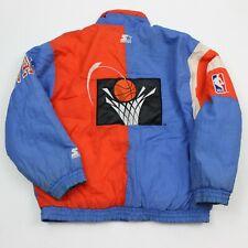 VTG 90s Cleveland Cavaliers NBA Starter Authetic Retro Puffer Coat Jacket Men XL