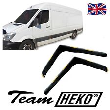 DVW31161 VW CRAFTER  2006-up  WIND DEFLECTORS fit 2pc HEKO TINTED