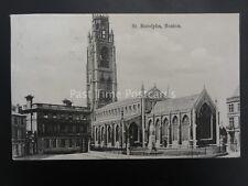 Lincolnshire BOSTON St Botolphs c1905 by Boots Cash Chemist Pelham 957