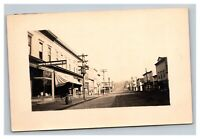 Vintage Early 1900's RPPC Postcard North Bend Oregon Front Street UNPOSTED