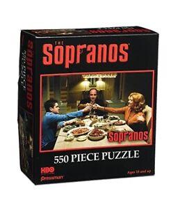 The Sopranos Toasting 550 Piece Jigsaw Puzzle Pressman Toys 2004