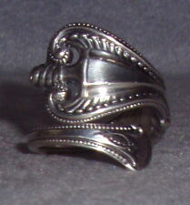 Vintage Towle Old Colonial Pattern Discontinued Sterling Silver Spoon Ring SZ 6