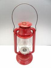 Antique Old Metal Red CT Ham MFG Co No 2 Barn Tubular Kerosene Lantern Lamp