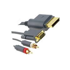 1,8 m Componente Hd Av Vga Monitor Lead Cable Para Xbox 360 Cable Nuevo