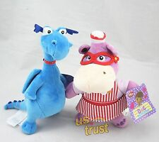 Disney Doc McStuffins Hallie & Stuffy Plush Doll SET - 2pcs