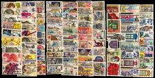 CZECHOSLOVAKIA 100 All Different Large Used Thematic Stamps