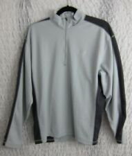 Eastern Mountain Sports Tech Wick Mens 1/4 Zip Front Sweat Shirt Size Large