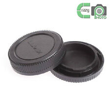 1 SET Rear Lens and Body Cap Cover for Olympus M4/3 Lumix Panasonic GX1 GH4