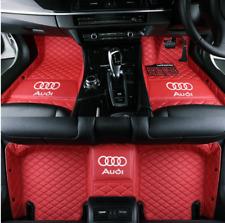 For Audi-Q2-Q3-Q5-Q7-Q8 Car Floor Mats-Right-hand drive
