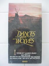 Dances with Wolves (VHS, 1993), Brand New, Still in the Sealed Package
