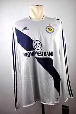 2003-04 DYNAMO KIEV maillot Taille XL Adidas manches longues Kiev Player Jersey Vintage TOP