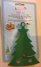 BNIP nuevo 3D plástico Masita Cortador De Navidad-árbol de Navidad