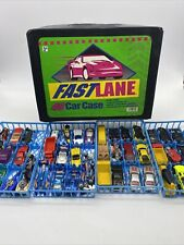 Vtg Matchbox Hot Wheels & Other 1/64 Die Cast Lot of 48 cars  1995 Carrying Case