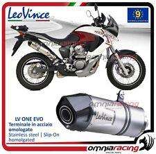 Leovince LV ONE Terminale scarico inox Honda XL 700 V Transalp 2008>2013