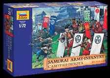 ZVEZDA 1:72 KIT SOLDATINI SAMURAI ARMY-INFANTRY XVI-XVII A.D. 44 FIGURE ART 8017
