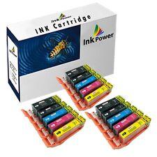 15 Ink Cartridges For Canon Pixma iP4850 iP4950 iX6550 MG5150 MG5250