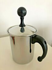 Frabosk Cappuccino Creamer Manual Frother Italy 18/10 Stainless Steel