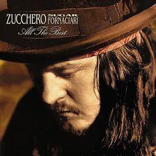 ZUCCHERO Sugar Fornaciari - ALL THE BEST - 2 CD + DVD Sigillato